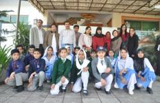 Save the Children invites Children at Pakistan Country Office